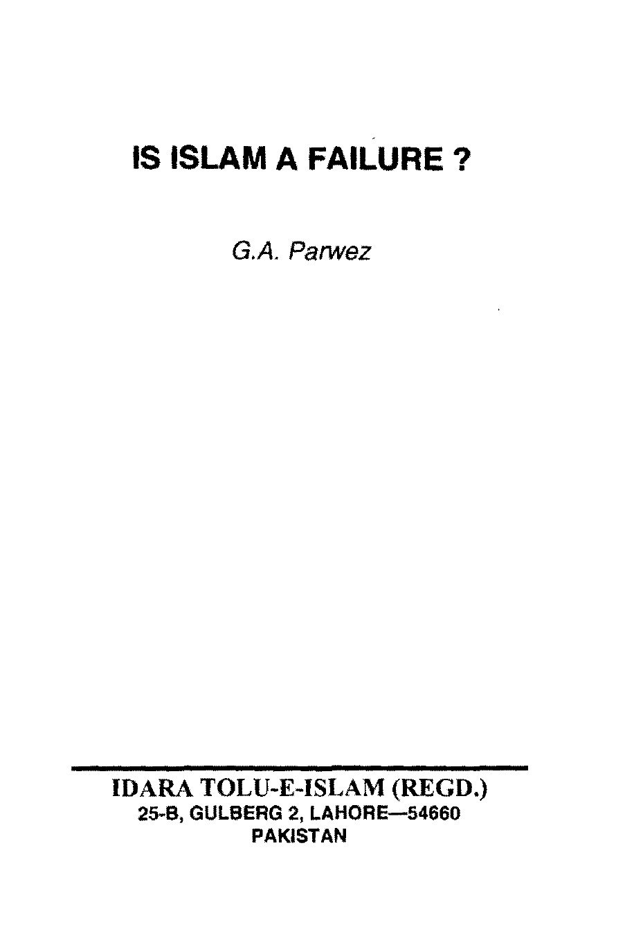 Is-Islam-is-a-failure