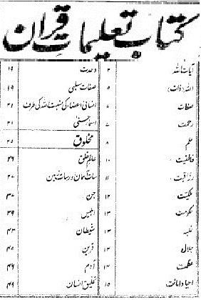 taleemat-quran